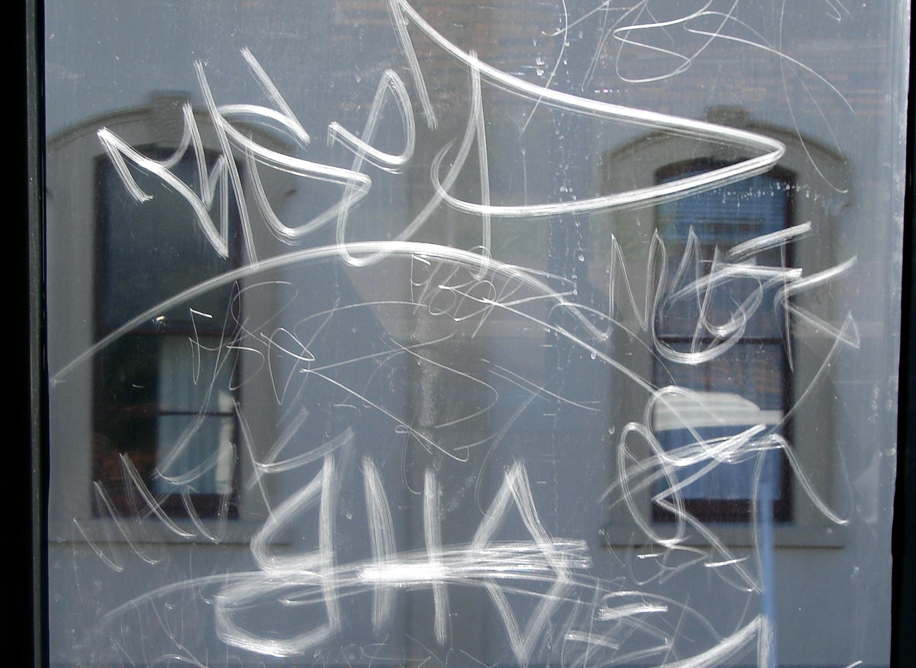 anti-graffiti-Commercial Window Tinting-scratches Film in Boston