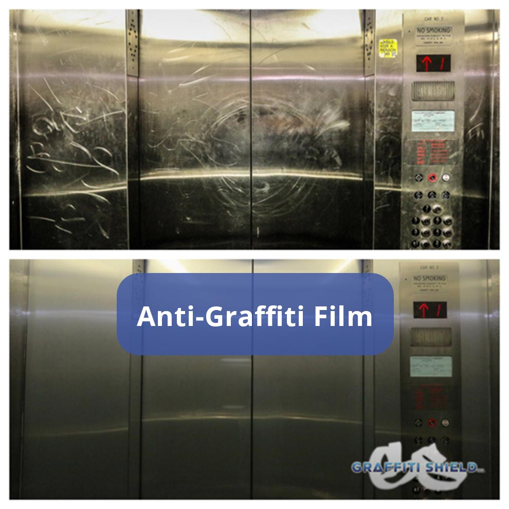 anti graffiti film